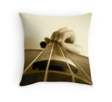 Violin Strings  Throw Pillow