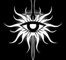 Inquisition Symbol Dragon Age White by DCornel