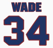 National baseball player Jake Wade jersey 34 by imsport