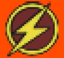 8-Bit Flash Logo by Cosmodious