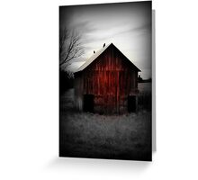 Red Barn 2 Greeting Card