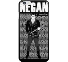 The Walking Dead - Negan & Lucille 3 iPhone Case/Skin
