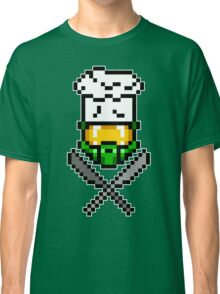 Chef Master Chief 8-Bit T-Shirt Classic T-Shirt