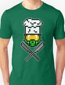 Chef Master Chief 8-Bit T-Shirt T-Shirt