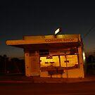 Milkbar at Night by Joan Wild