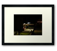 Leongatha Station Framed Print
