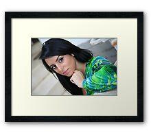 Sarah Framed Print