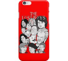 Lost Boys Collage iPhone Case/Skin