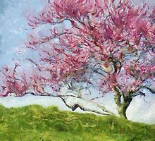TREES by Jean Gregory  Evans
