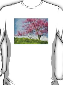 Pink Flowering Tree T-Shirt