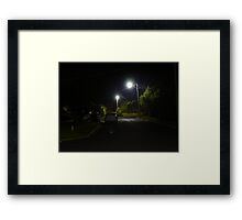 Walsh Court Framed Print