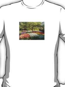 Garden of flowers  T-Shirt