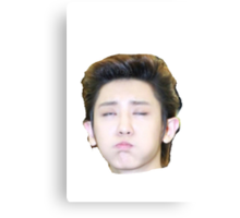 Chanyeol the Reaction King Canvas Print