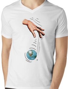 A World Of Indifference Mens V-Neck T-Shirt