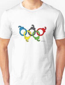 Five handcuffs T-Shirt