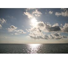 Sun Cloud Photographic Print