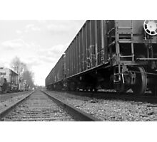 Train Car Photographic Print