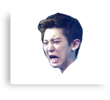 Chanyeol Derp Canvas Print