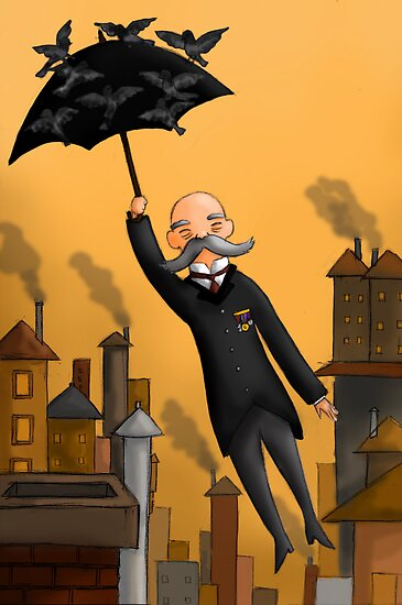Grandpa Poppins by Marta Tesoro