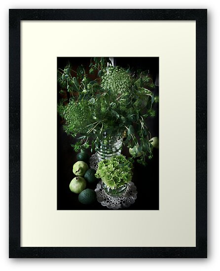Still life with green by Sashy