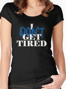 i don't get tired idgt #idgt Women's Fitted Scoop T-Shirt