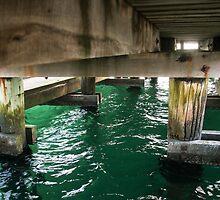 Under the jetty by John Billing
