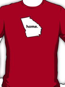 Georgia. Home.  T-Shirt