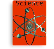 Science Funny Geek Nerd Canvas Print