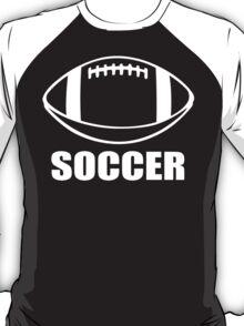 Soccer Funny Geek Nerd T-Shirt