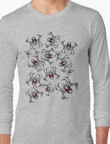 Black Widow Swarm Long Sleeve T-Shirt