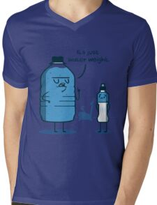 Water Weight Mens V-Neck T-Shirt