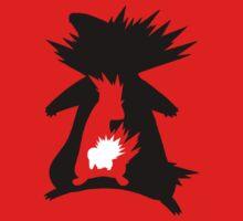 Cyndaquil Evolution T-Shirt by rizordesign