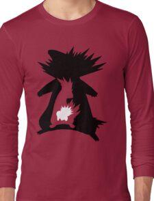 Cyndaquil Evolution T-Shirt Long Sleeve T-Shirt