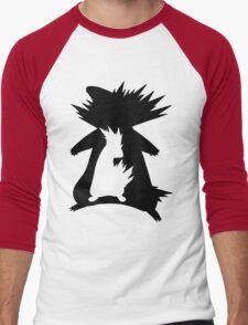 Cyndaquil Evolution T-Shirt Men's Baseball ¾ T-Shirt