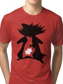Cyndaquil Evolution T-Shirt Tri-blend T-Shirt