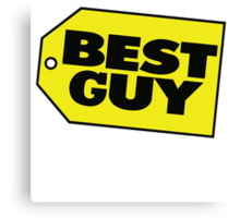 Best Guy - Best Buy Spoof Logo Canvas Print