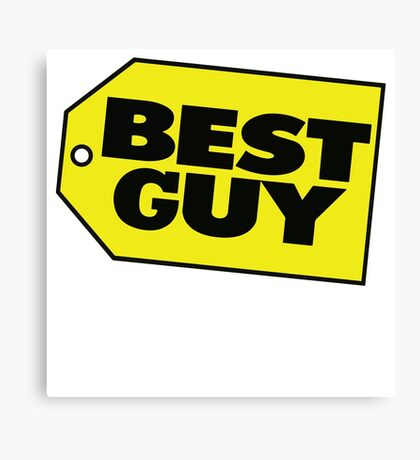 Best Guy - Best Buy Spoof Logo Canvas Print