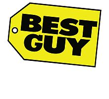 Best Guy - Best Buy Spoof Logo Photographic Print