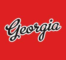 Georgia Script Black by USAswagg