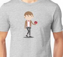 Bullie & Duck Play Doctor Who with Fez Unisex T-Shirt