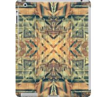 Geometric Rusty Grungy Abandoned Building Exterior iPad Case/Skin