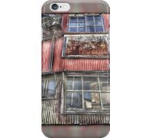 Rusty Grungy Weathered Abandoned Building Exterior iPhone Case/Skin