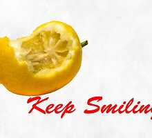 Lemon composition Keep Smiling! by luckypixel