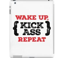 Motivational - Kick ass iPad Case/Skin