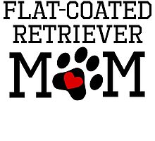 Flat-Coated Retriever Mom by kwg2200