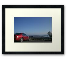 Falcon on the Seat Framed Print