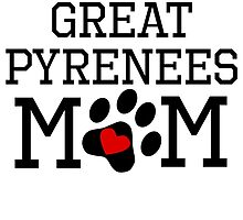 Great Pyrenees Mom by kwg2200