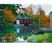 Morning Star Mill Photographic Print