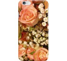 Antique Coral Floral iPhone Case/Skin