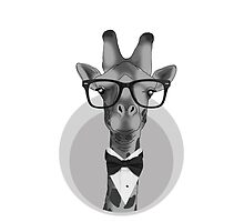 Hipster Giraffe by 0thatsHawkward